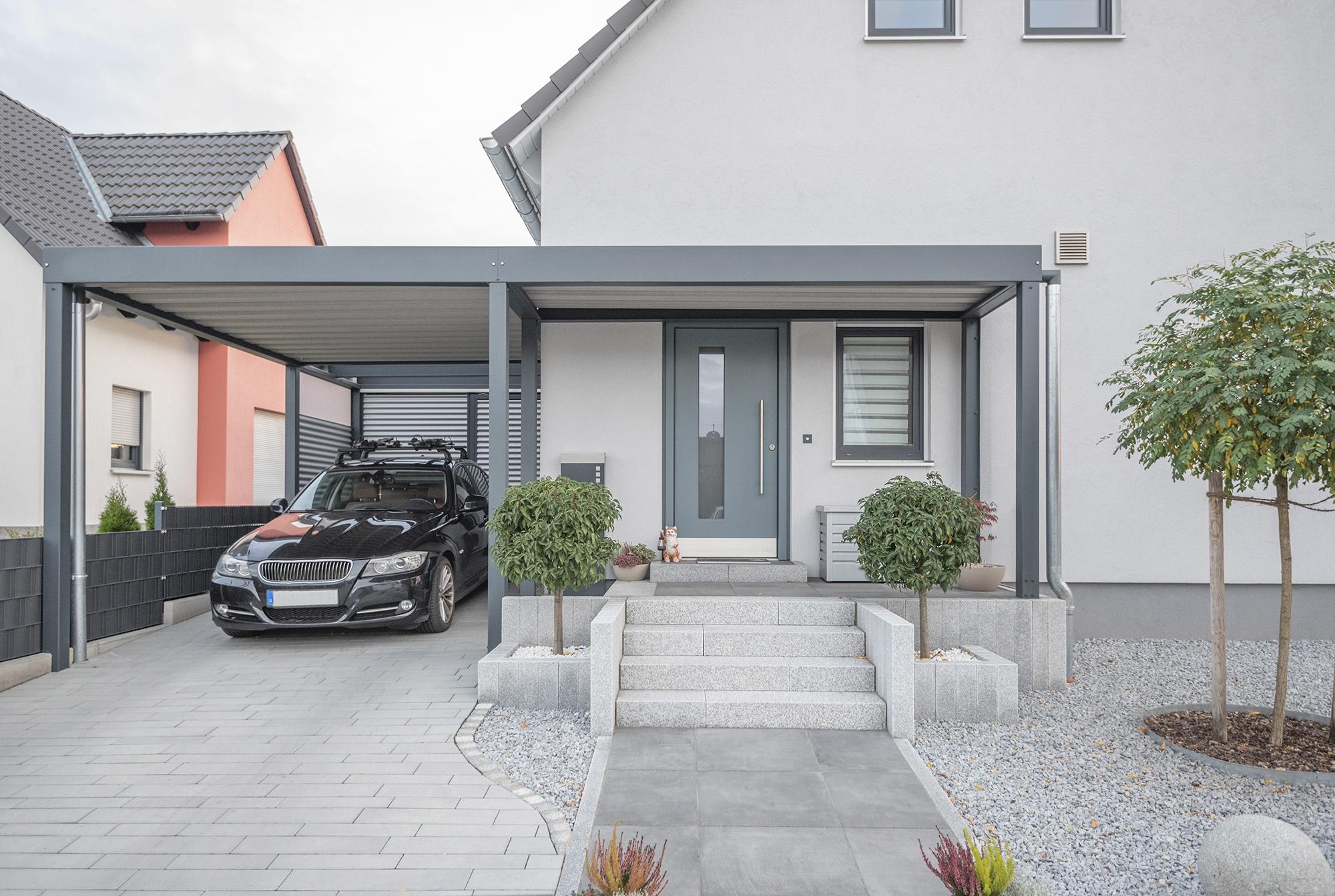 Carport Bau in Frankfurt